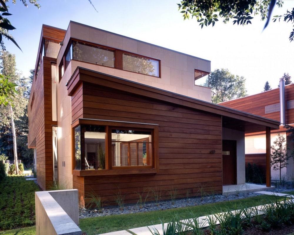 Вентилируемые фасады для деревянных домов