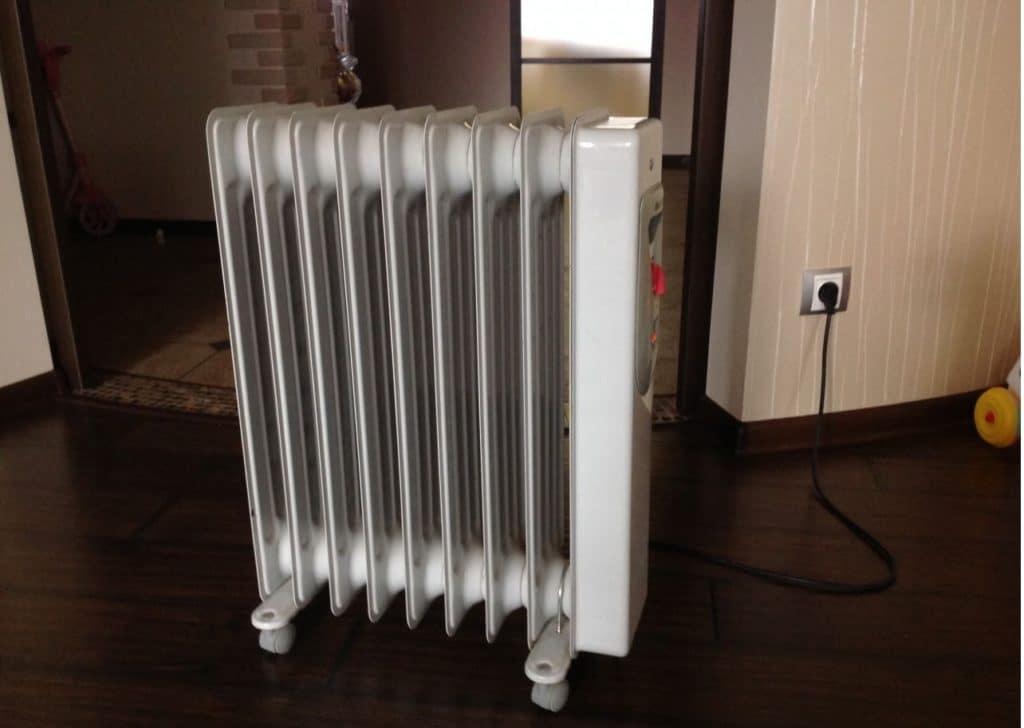 Переносной масляный радиатор