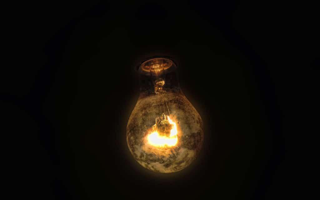 Старая лампочка