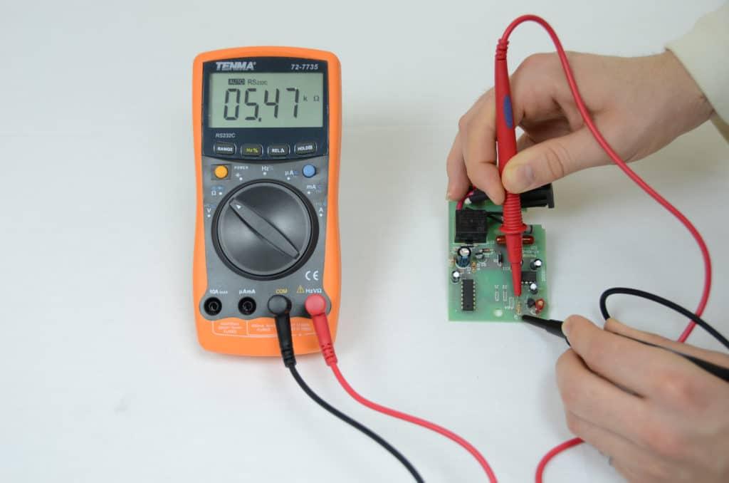Проверка мультиметром без выпаивания