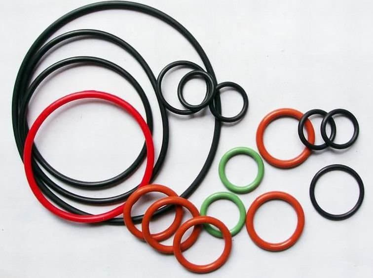 кольца силиконовые круглого сечения
