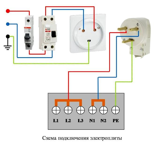 схема 1 фаза