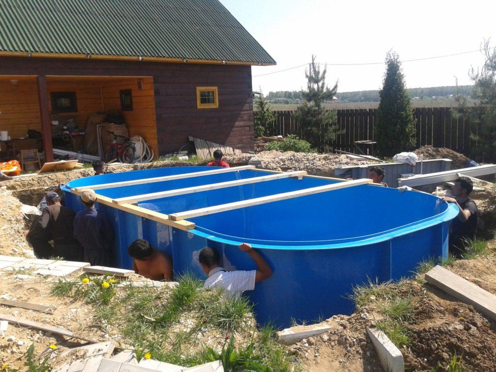 Сложно ли построить бассейн? Делаем сами!