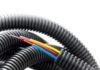 Гофрированная труба для кабеля: виды и сферы применения