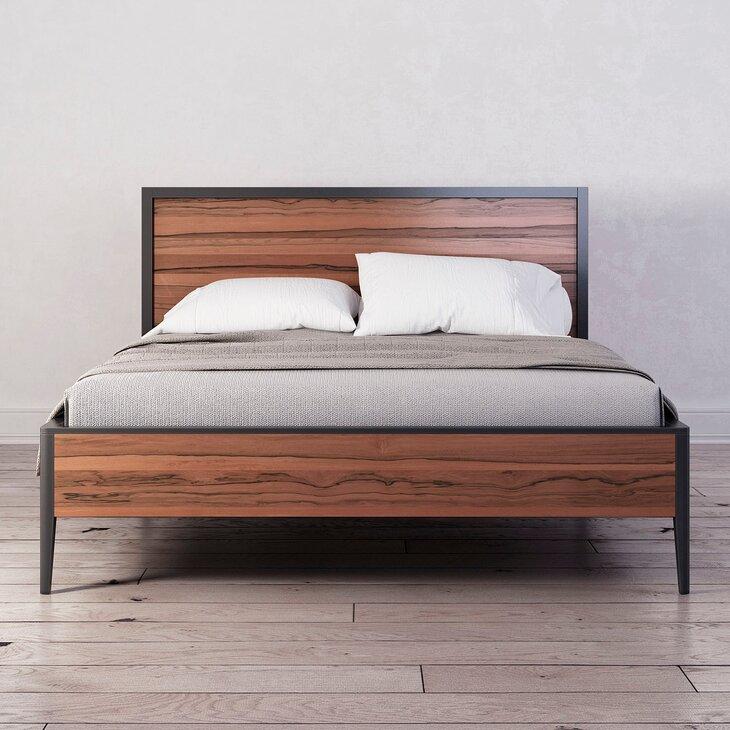 Дизайн и форма двуспальных кроватей